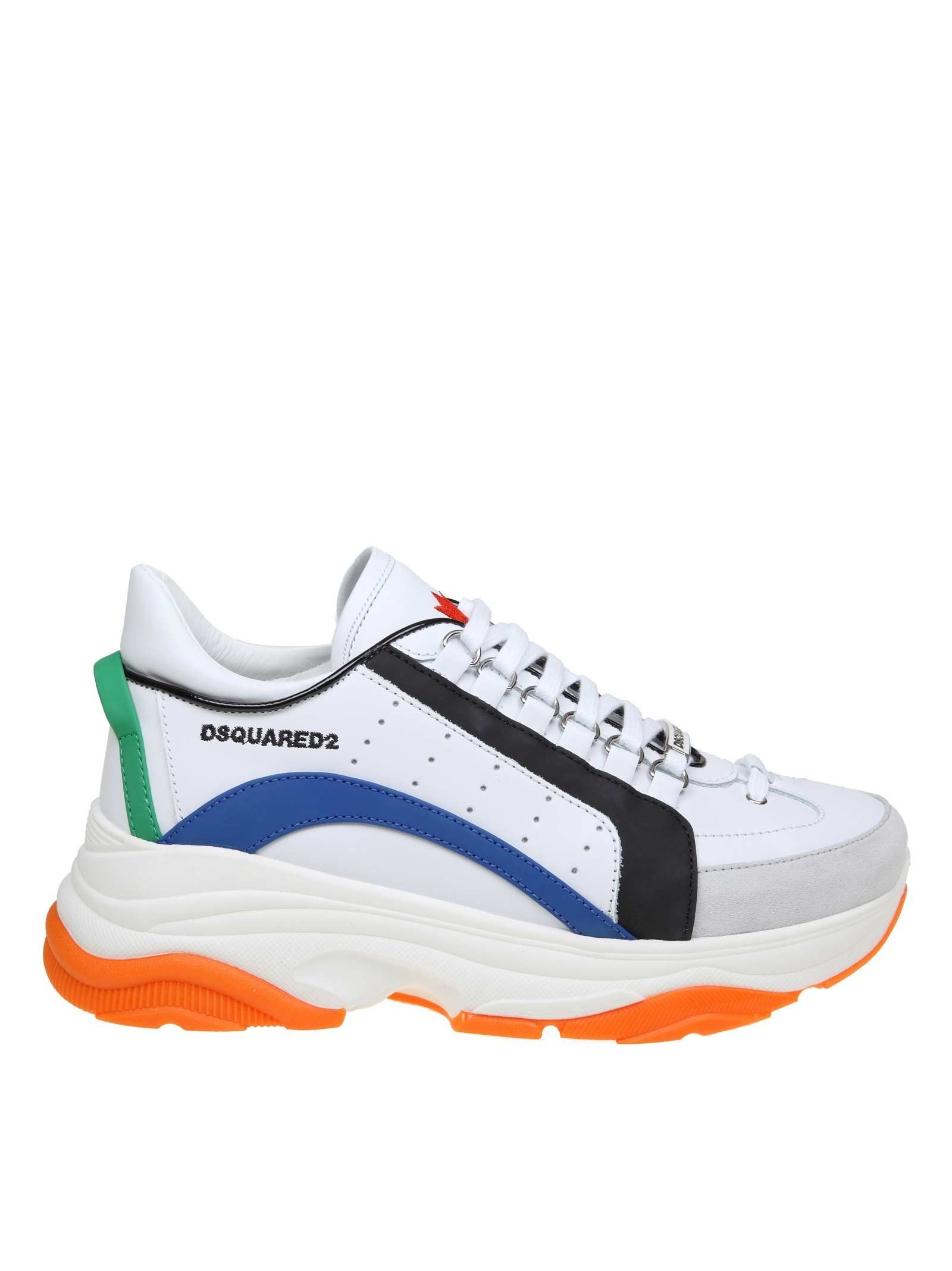 DSQUARED2 DSQUARED SNEAKERS BUMPY 551
