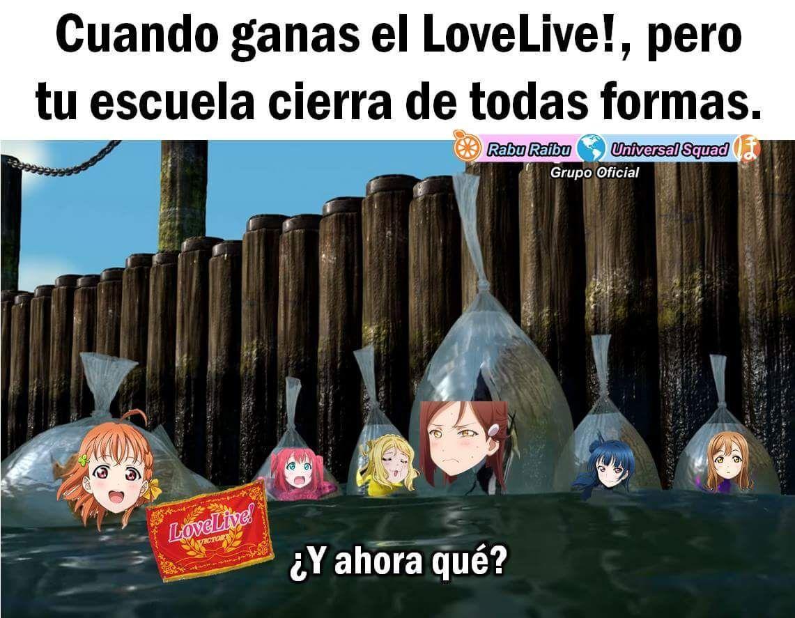 Memes De Love Live Sunshine 2 Memes Humor Love Live