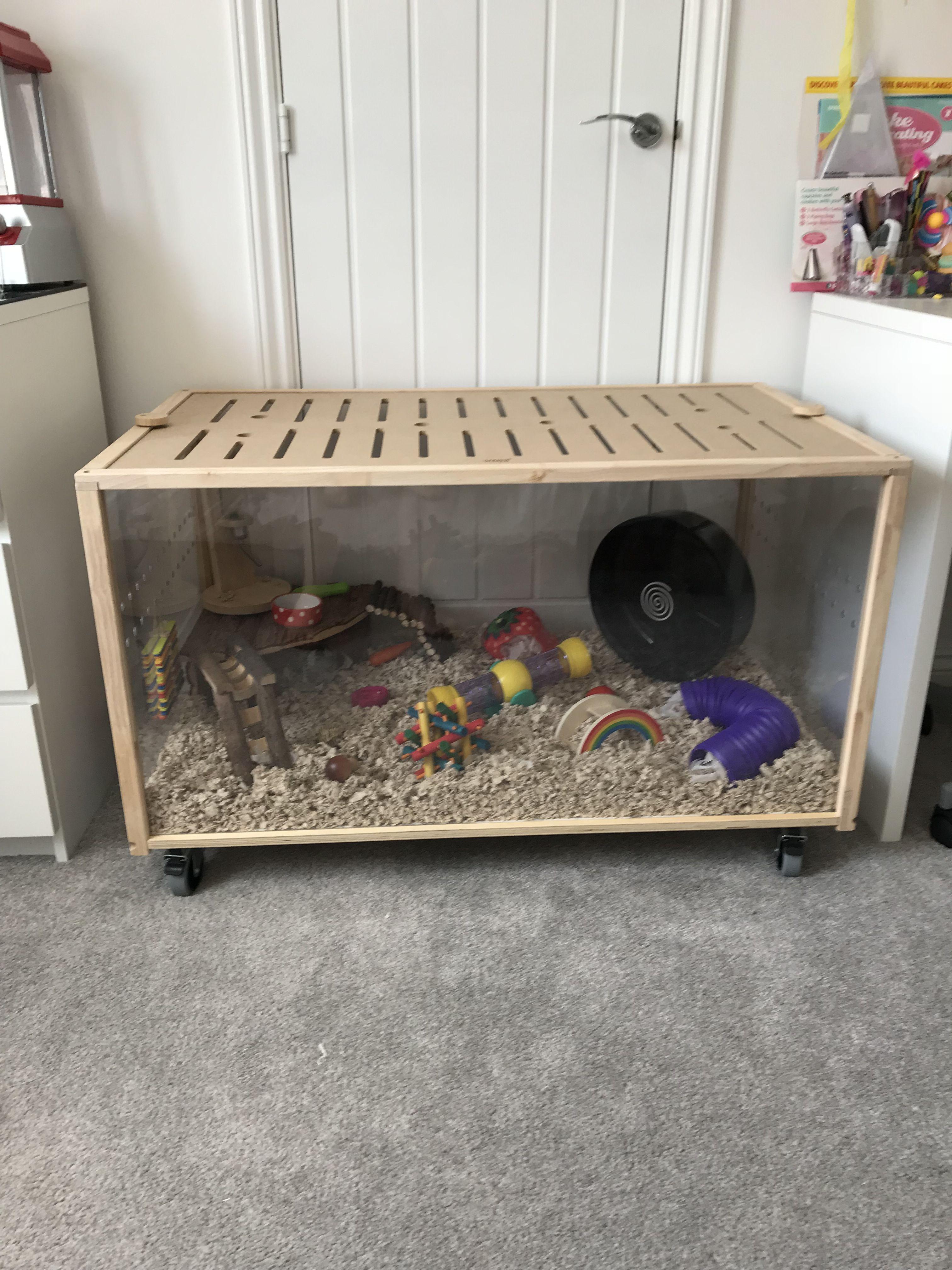 Hamster Cage Living World Green Eco Habitat Medium My Hamster Cage