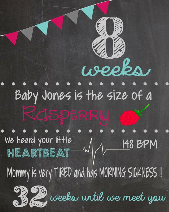 Pregnancy Photo Prop Chalkboard Printable By LaLaExpressions 3500