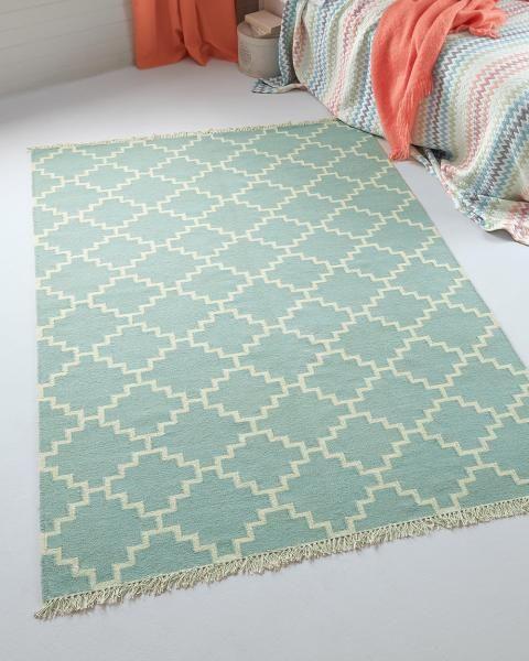 Wollteppich Carreau Turkis 160 X 230 Cm 4 8 Kg Wollteppich Teppich Kinderzimmer Teppich