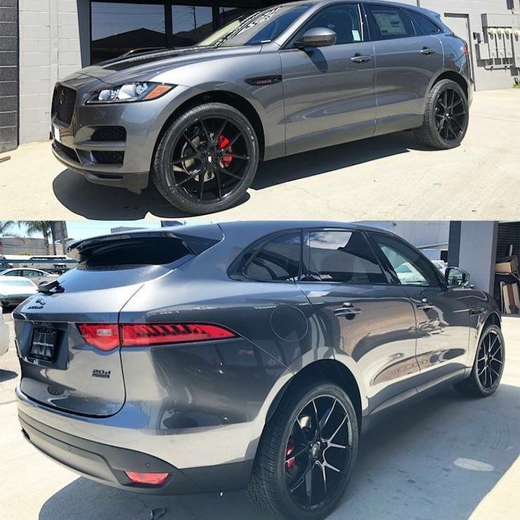 Jaguar F Pace W Custom Blackout Package 888 247 2111 For Sales Custom Build Consult Jaguar Jaguarfpace Fpace Bla Jaguar Jaguar Fpace Motorsport