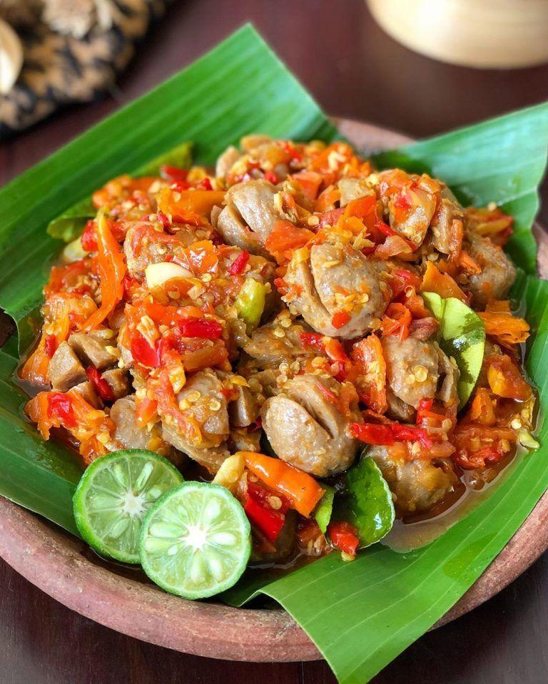 Resep Bakso Mercon Pedas Gurih Super Nampol Resep Di 2020 Resep Masakan Resep Makanan Pedas