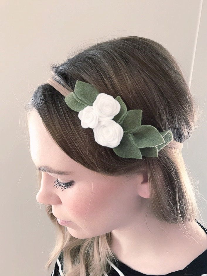 Felt headband girls Hair accessories Headband