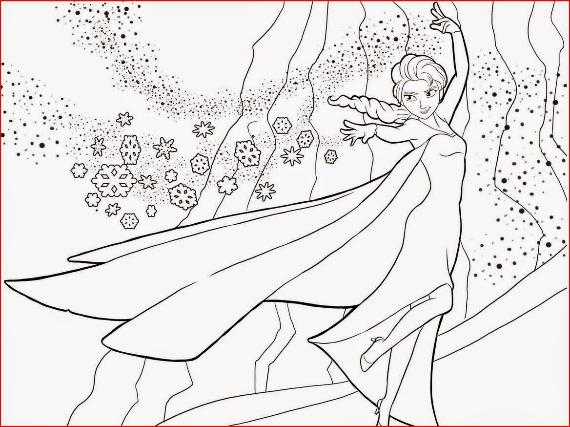 Elsa From Frozen Free Printable Coloring Pages Boyama Sayfalari