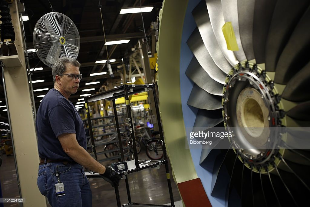 Engine Manufacturing At General Electric Aviation Ahead Of U.S. ...