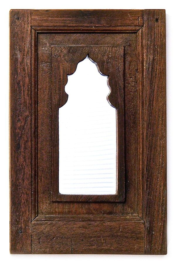 Arched Indian Wooden Mirror | Pinterest | Meditation stool, Mirror ...