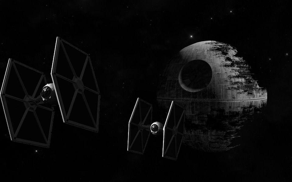 Tie Fighter Not Exactly Being Manufactured Yet Star Wars Wallpaper Star Wars Background Star Wars Pc