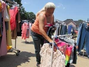 Rita Tanner Is The Merchandiser Of Emma S Attic A Consignment Shop That Benefits The Emmaus Women S Shelter Tanner Along Consignment Shops Thrifting Women