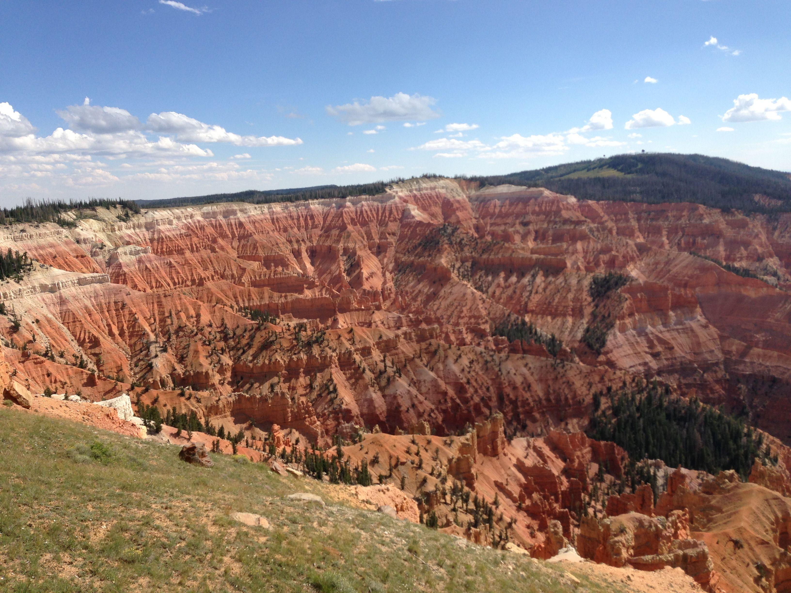 Cedar breaks overlook natural landmarks landmarks