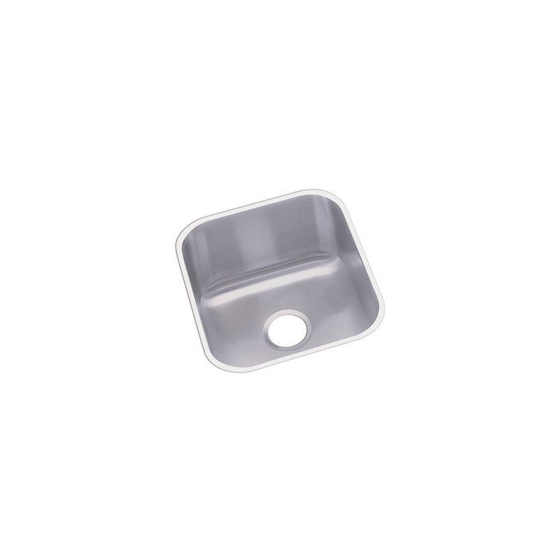 Elkay Dxuh1618 Dayton 14 Single Basin Undermount Bar Sink Stainless Steel Fixture Kitchen