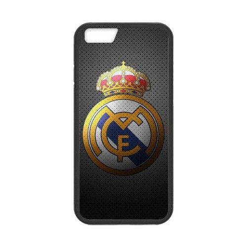 Los Blancos Galacticos Football Club logo Apple Iphone 6 Case. #accessories #case #cover #hardcase #hardcover #skin #phonecase #iphonecase #iphone6 #iphone6case #realmadrid #dezignercase