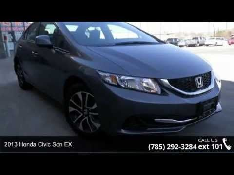 2013 Honda Civic Sdn EX   Lewis Toyota   Topeka, KS 66614 CARFAX 1 Owner  And Buyback Guarantee** Less Than 25k Miles!!! You Donu0027t Have To Worry  About ...