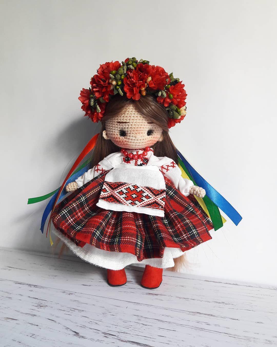Пин на доске Вязание и вязаные куклы