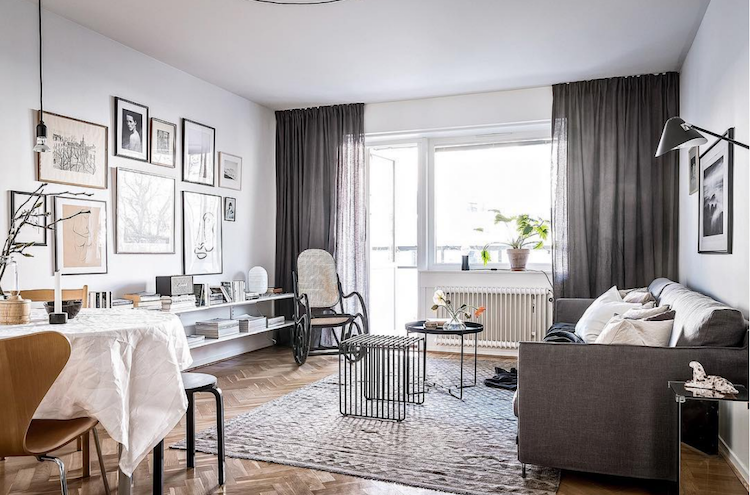 Innendesign Häuser My Scandinavian Home: A Cool, Grey, Cream And White