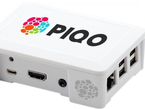 Piqo a construit une mini unité centrale à moins de 120 euros. Outre son prix, elle se distingue aussi par une faible consommation électrique.