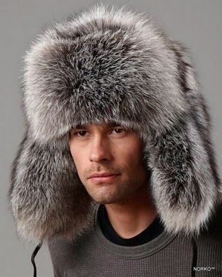 e2fc58d0d1346 Fur Russian trapper hat - Very nice it is like an extension of his hair but  more luxurious.