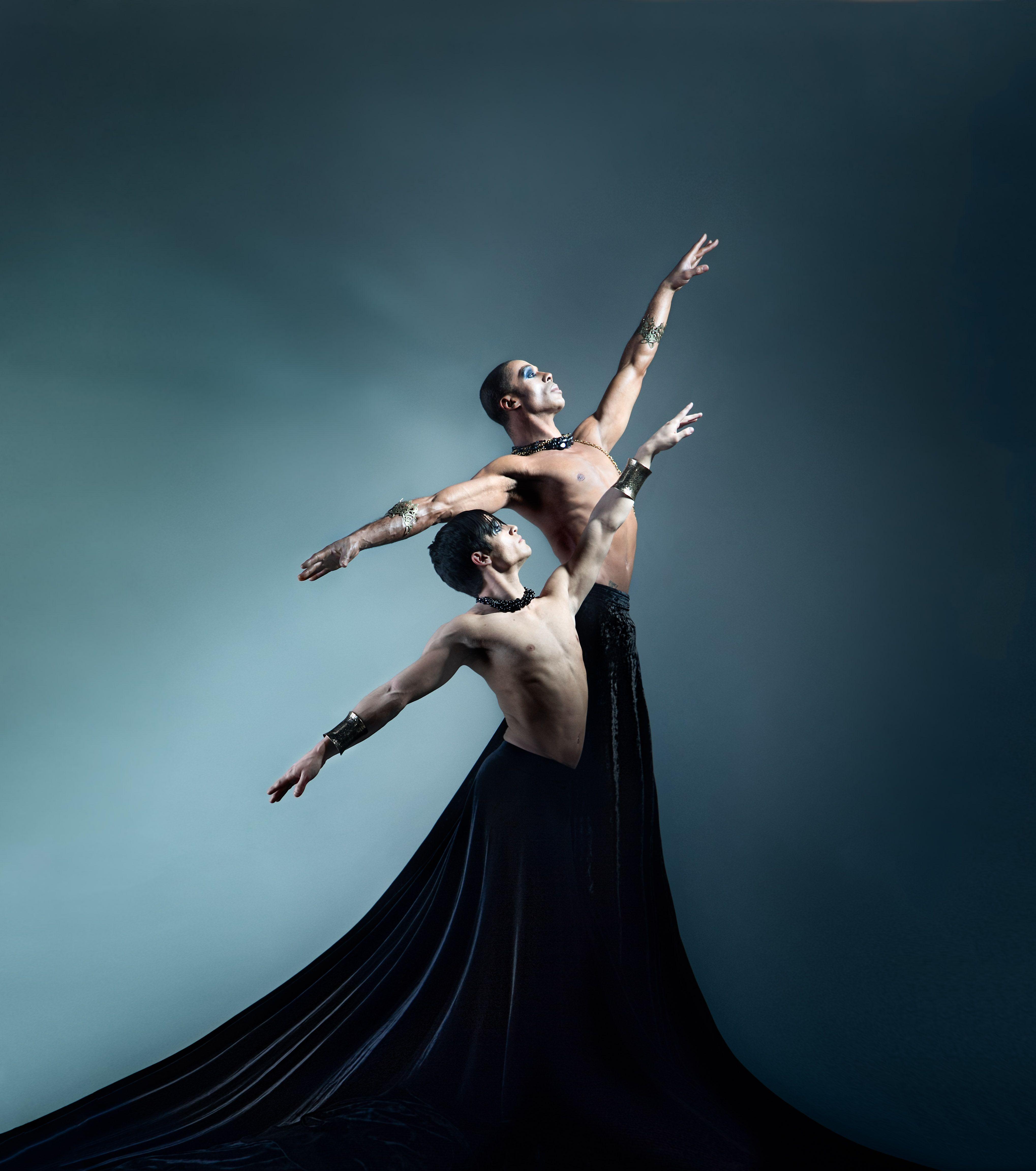 Founder Artistic Director Bernard Gaddis And Rehearsal Director And Dancer Roman Pantoja