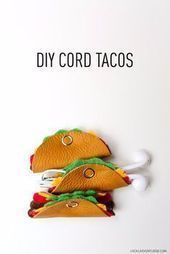 #Cord #craftprojects #DIY #Gifts #Girls #Tacos 37 DIY Gifts for Girls