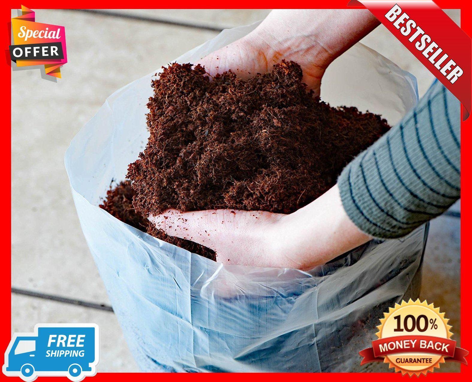 Coco Coir Brick Potting Soil Mix Coconut Palm Garden