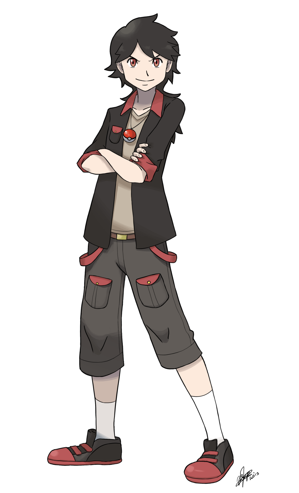 Male Pkmn Trainer Commission For Scattystorm By Kysel D5yaa2c Png 1024 1687 Pokemon Pokemon Game Characters Pokemon Human Characters