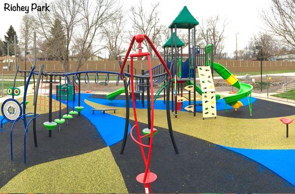 The Newest Playgrounds In Metro Denver Playground Denver Vacation Kids Playground