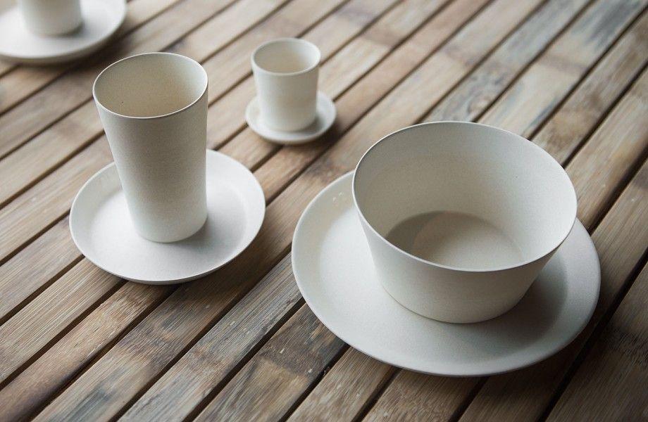 Wit servies met een exclusief matte afwerking - White dinnerware exclusive character - #WoonTheater & Wit servies met een exclusief matte afwerking - White dinnerware ...
