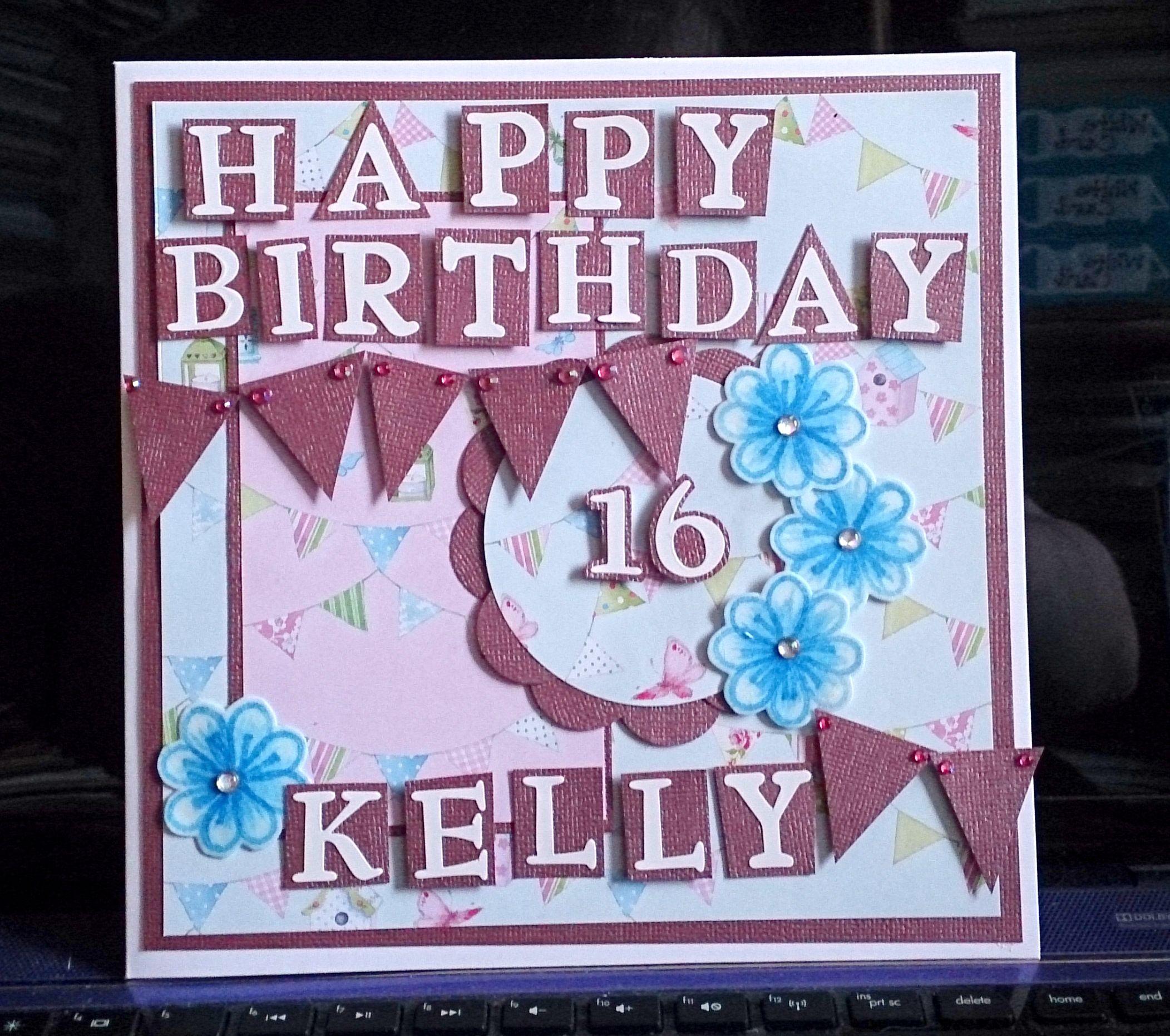 Sweet 16th birthday card Birthdays Pinterest