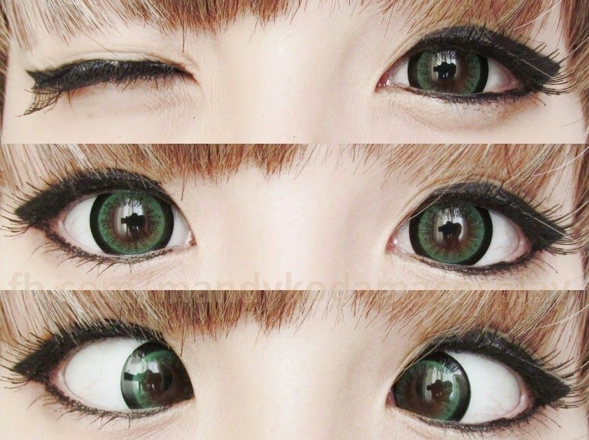 Dolly Eye Sugar Candy Green Circle Lenses Boast A Huge