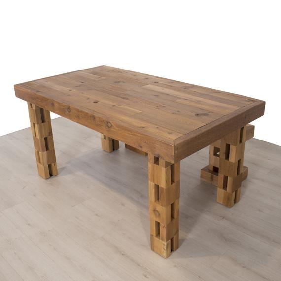 Mineral Oil Teak Dining Table