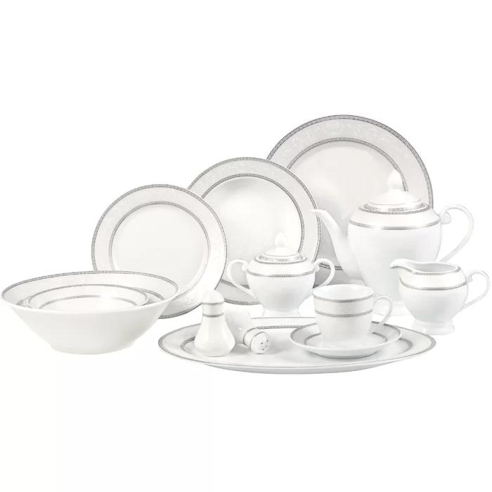 Sirena 57 Piece Dinnerware Set Service For 8 In 2020 Dinnerware