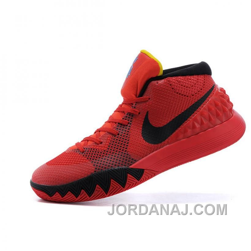uk availability e00a3 2665b ... discount code for shop for nike kyrie irving 1 red black basketball  shoes super deals at ...
