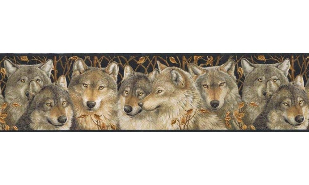 Prepasted Wallpaper Borders Animals Wall Paper Border