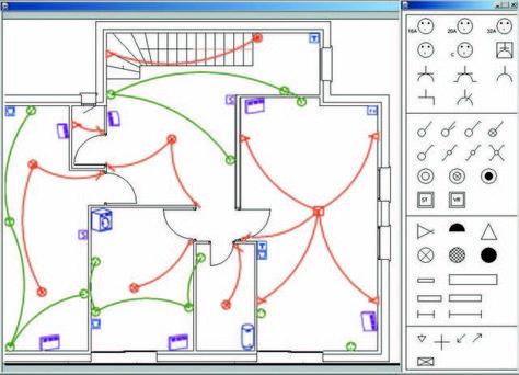 schema-electrique-1342525272jpg Technologie Pinterest Le - Schema Tableau Electrique Maison