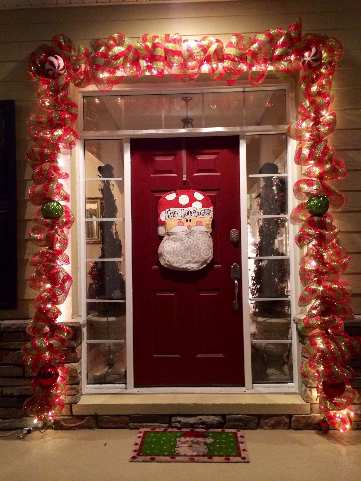 Front Door Entrance Front Door Christmas Decorations Front Porch Christmas Decor Fall Front Porch Decor