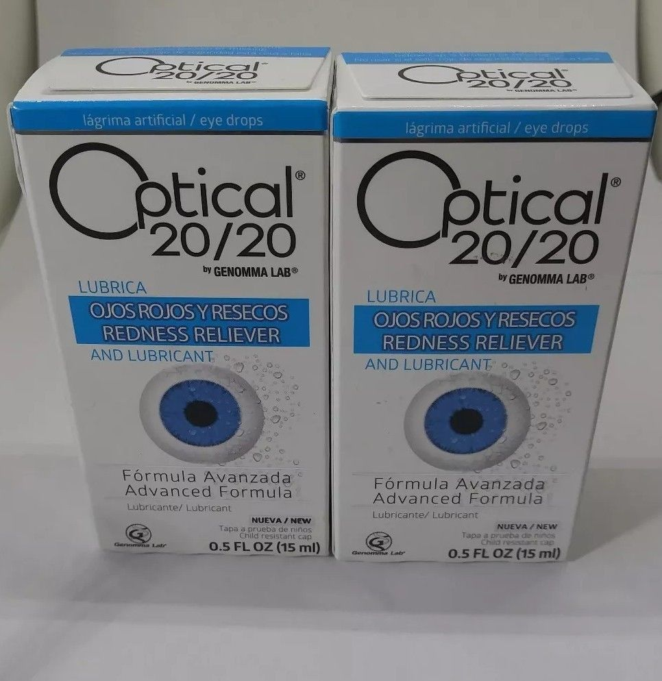 Optical 20/20 Eye Drops Redness Relied and Lubricant