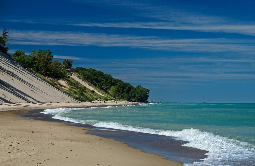 Central Beach Michigan City In Travel