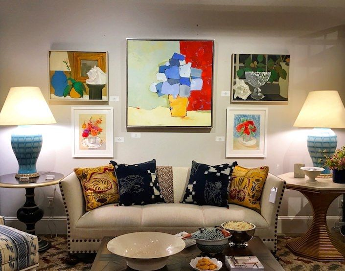 Flowers Through Art At Bunny Williams Home Quintessence Bunny Williams Home Bunny Williams Home Decor
