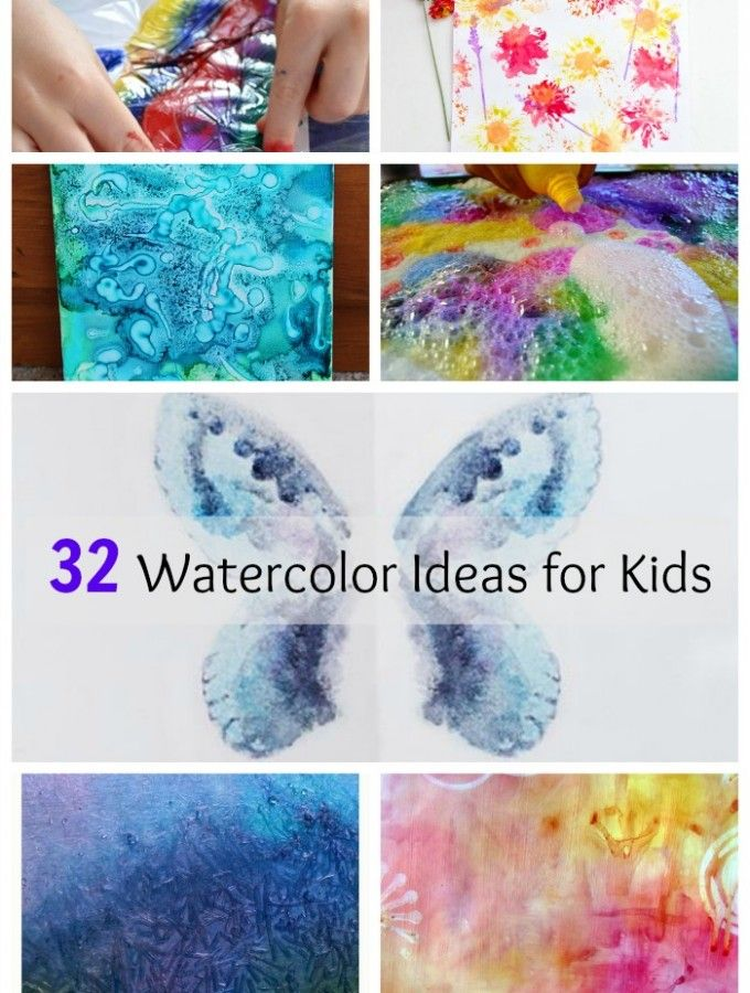 50 Keepsake Worthy Kids Handprint Art Ideas Kids Watercolor