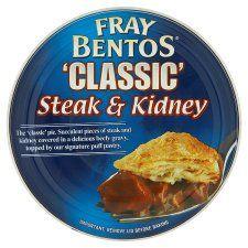 Fray Bentos Steak & Kidney Pie 213G | English food, Retro ...