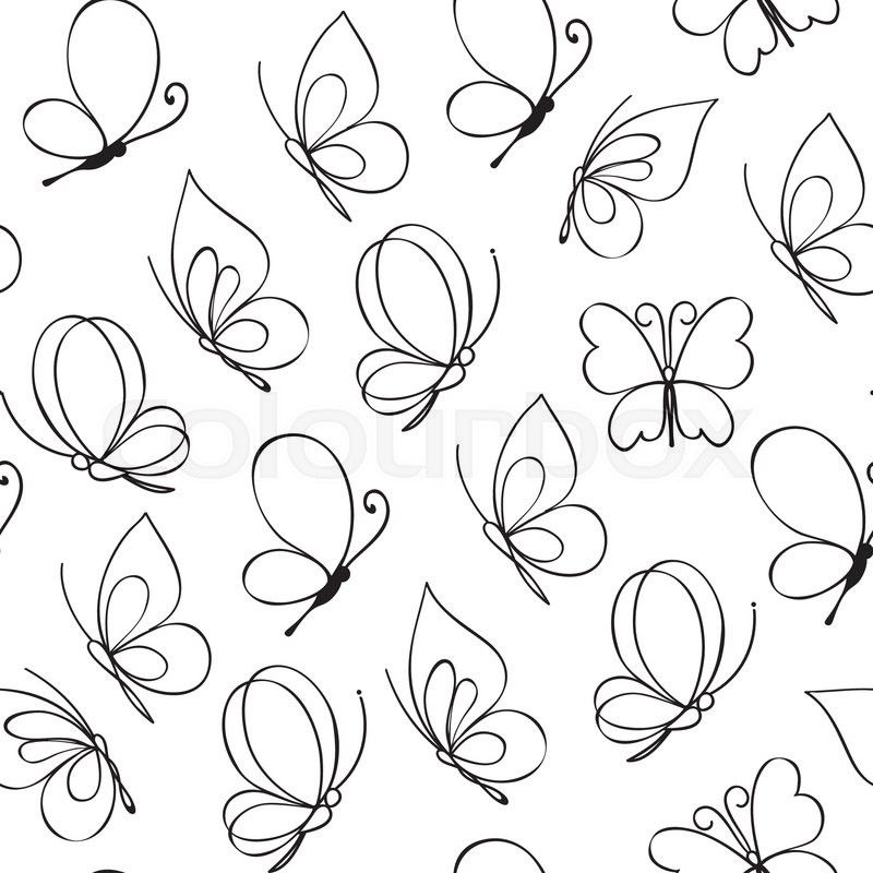 Simple Butterfly Drawing: Simple Butterfly, Tattoos
