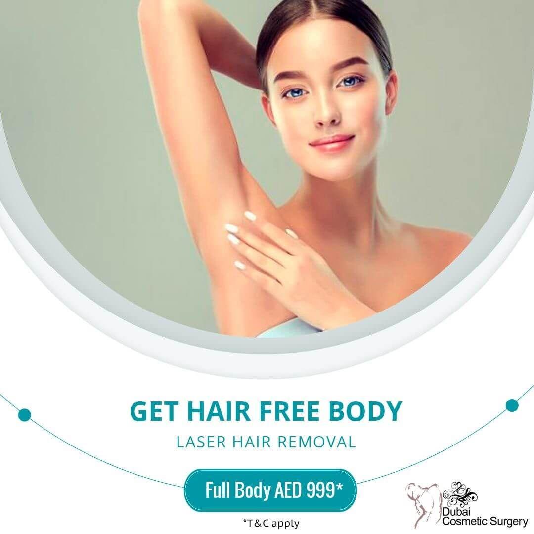 Full Body Laser Hair Removal Offer in 2020 | Hair removal ...