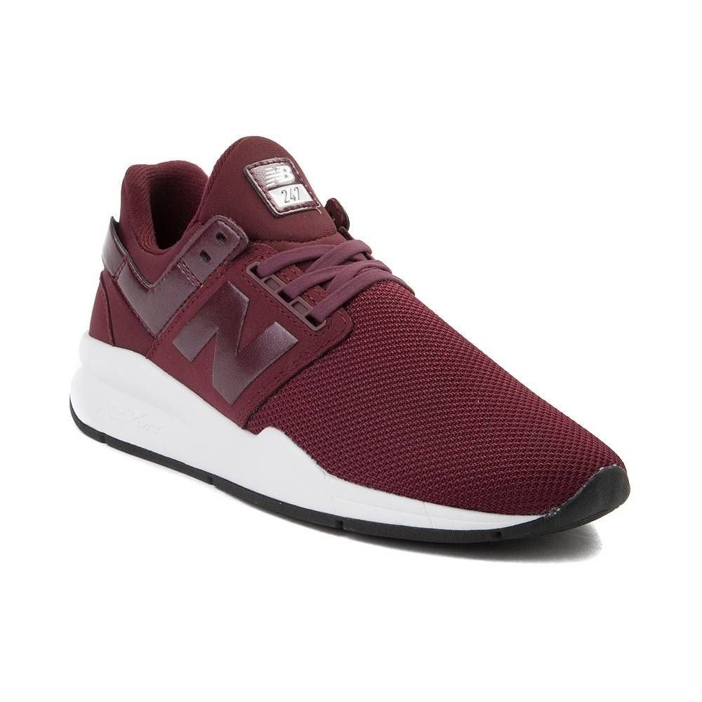 Womens New Balance 247 V2 Athletic Shoe - Burgundy/White ...