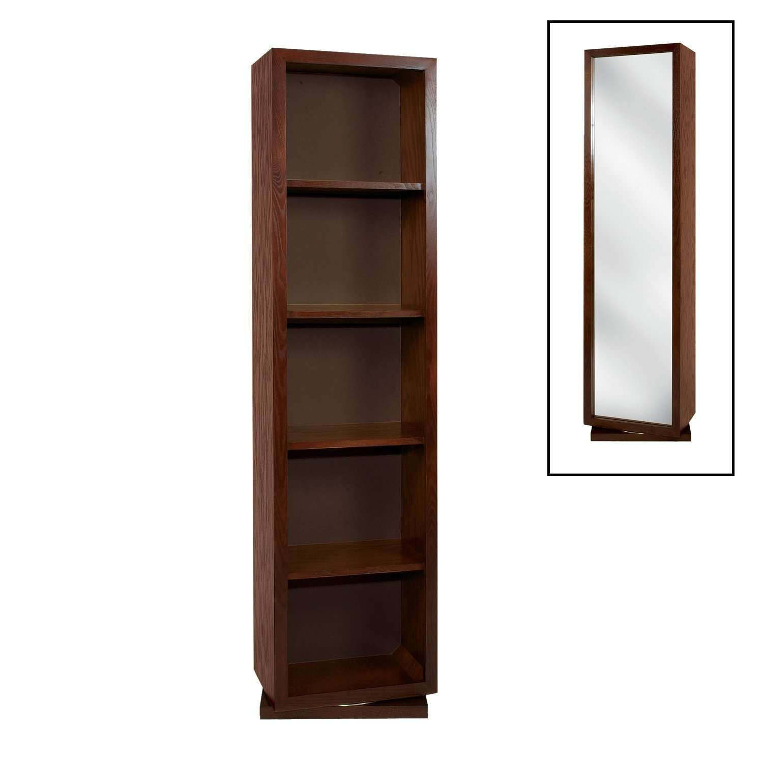 to ceiling contemporary prod poltrona frau veneer swivel mdf wood bookcases floor product bookcase