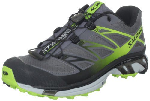 Salomon Men's XT Wings 3 Trail Running Shoe,Dark Cloud/Light ...