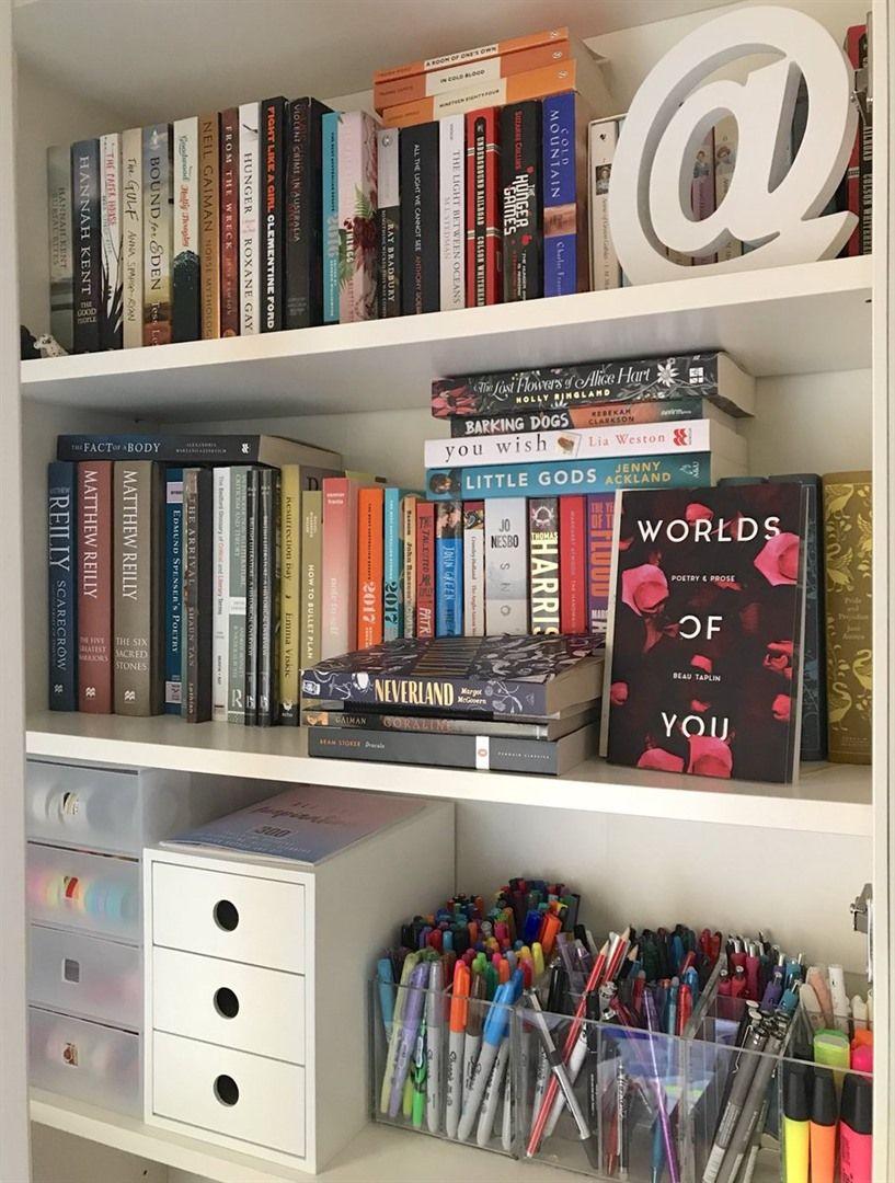 26 Spectacular Aesthetic Bookshelf Ideas Bookshelves In Bedroom Bookshelves Cool Bookshelves