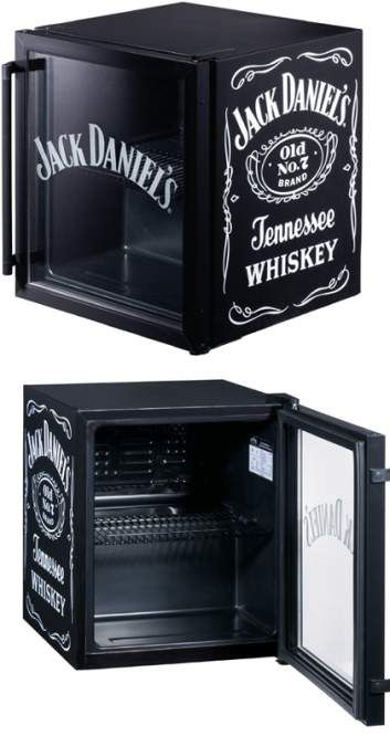 Jack Daniel\'s: Mini fridge | Cool Stuff | Pinterest | Alkohol ...
