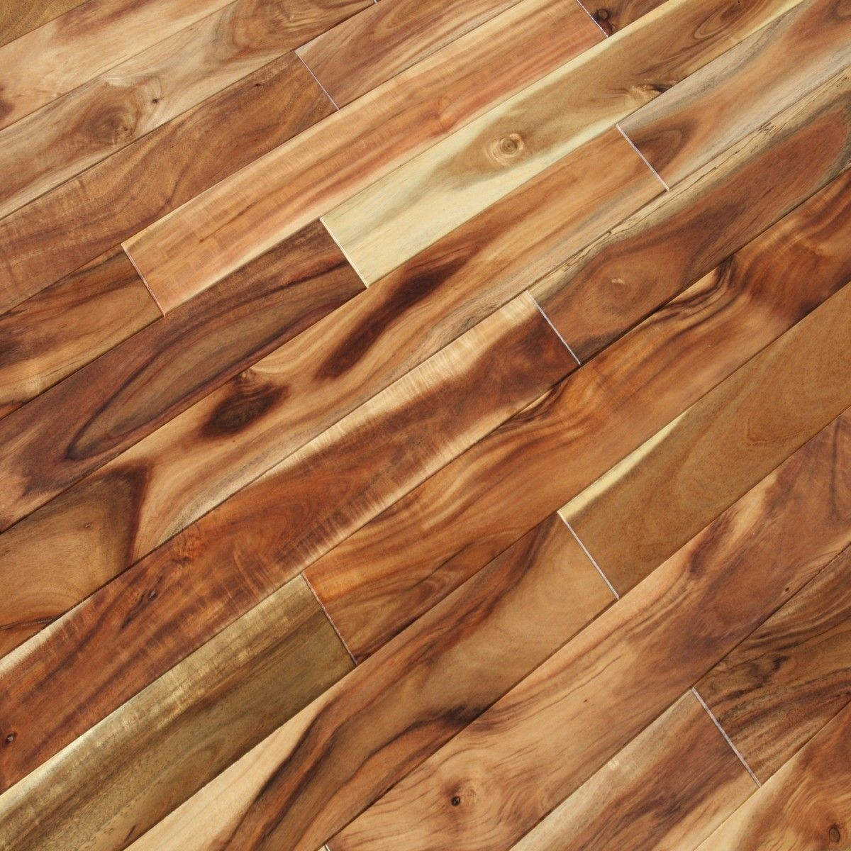 Acacia asian walnut blonde hardwood flooring for Solid hardwood flooring