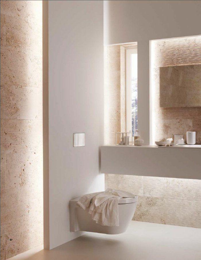 L clairage indirect 52 super id es en photos taupe et for Eclairage indirect salle de bain