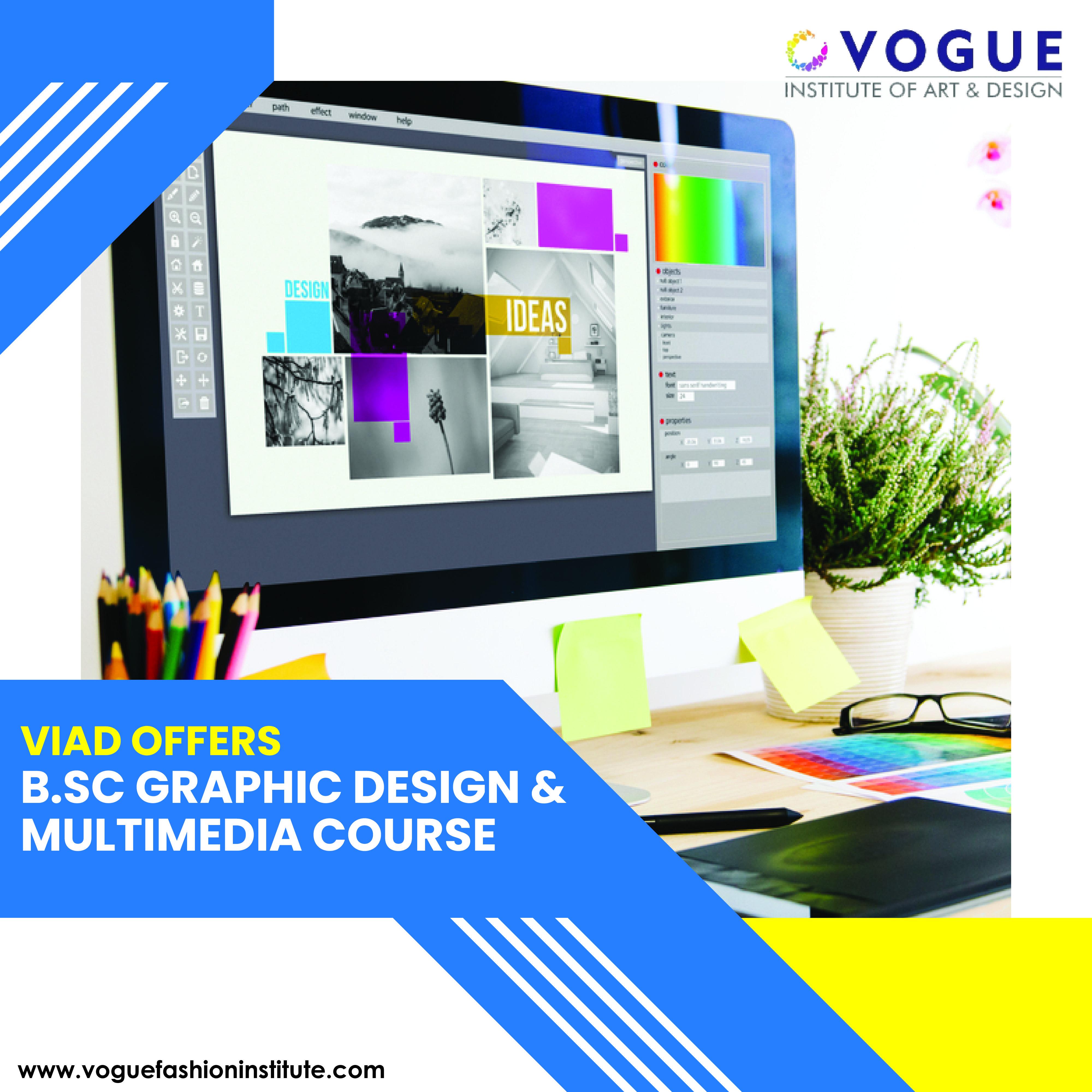 Graphic Design And Multimedia Degree Program Web Design Course Design Graphic Design